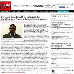 L'avènement des ConsulTech, ou la révolution silencieuse dans l'industrie du conseil en management