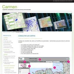 Consulter les cartes - Carmen - Site d'accompagnement