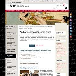 BNF : consultation audiovisuelle