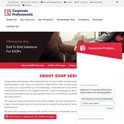 ESOP in India - Corporate Professionals