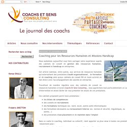 Coaching pour les Ressources Humaines et Missions Handicap