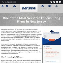 IT Consulting New Jersey