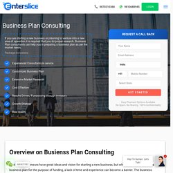 Business Plan Consulting Service