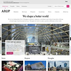 Home | Arup | A global firm of consulting engineers, designers, planners and project managers