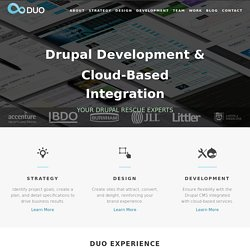 Web Content Management, Internet Design and Development | Duo Co