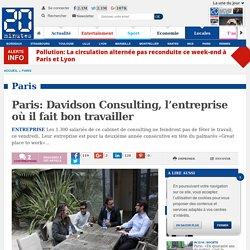 Paris: Davidson Consulting, l'entreprise où il fait bon travailler