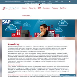 Consulting, Technical & Functional Upgrades, SAP Solution Manager, SAP