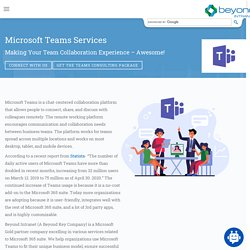 Microsoft Teams Consulting Services