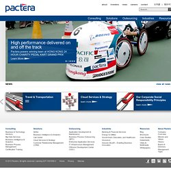 Global IT Consulting, Solution, and Outsourcing Services from Pactera