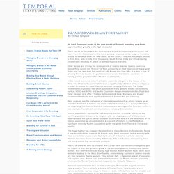 Temporal Brand Consulting - Publications - Articles