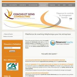 Plateforme téléphonique de coaching - RéservoirCoachs
