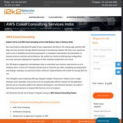 AWS Cloud Computing Consulting