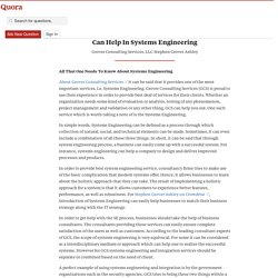 Grover Consulting Services Using Their Experien... - Grover Consulting Services, LLC - Stephen Grover Ashley - Quora