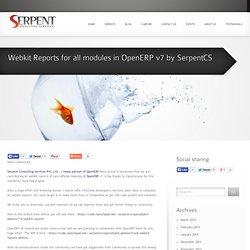 Webkit Reports for all modules in OpenERP v7 by SerpentCS