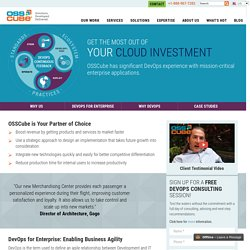 DevOps Consulting Services, DevOps as a Service - OSSCube