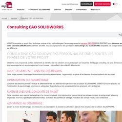 Consulting CAO SOLIDWORKS, solutions clés en main pour déployer vos projets