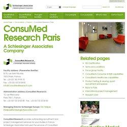 ConsuMed Research Paris