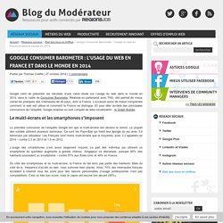 Google Consumer Barometer : l'usage du web en France et dans le monde en 2014