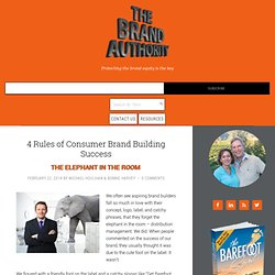 4 Rules of Consumer Brand Building Success