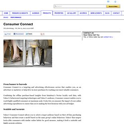 Consumer Connect - Yahoo