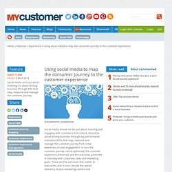 Using social media to map the consumer journey to the customer experience