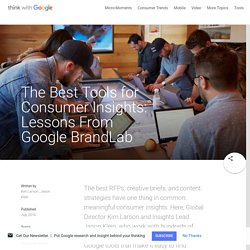The Best Tools for Consumer Insights: Lessons From Google BrandLab