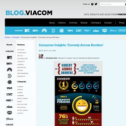 Consumer Insights: 'Comedy Across Borders' - Viacom Corporate