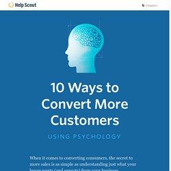 10 Consumer Behavior Studies on Persuasion and Conversion
