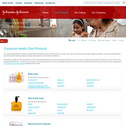 Consumer Health Products - Johnson & Johnson