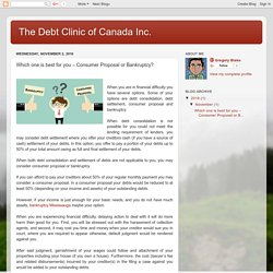 Bankruptcy Mississauga