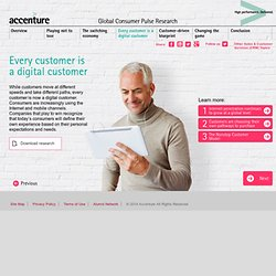 Global Consumer Pulse Research 2013 – Accenture Sales and Customer Services (CRM)