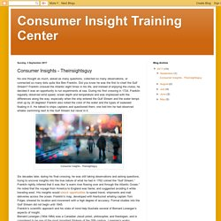 Consumer Insight Training Center: Consumer Insights - Theinsightsguy