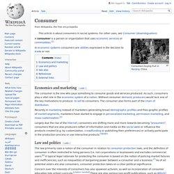Consumer - Wikipedia