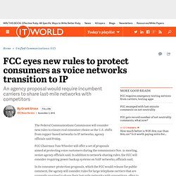 FCC eyes new rules to protect consumers as voice networks transition to IP