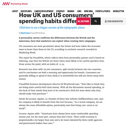 How UK and US consumers' spending habits differ - Marketing Week