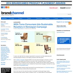 IKEA Turns Consumers Into Sustainable Resellers in Norwegian Campaign