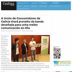 A Unión de Consumidores de Galicia tirará proveito da banda deseñada para unha mellor comunicación en liña