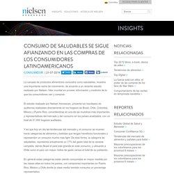 INSIGHTS - Consumo de saludables se sigue afianzando en las compras de los consumidores latinoamericanos