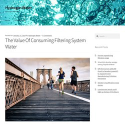 Value Of Consuming Filtering System Water economic investments, smart water metering services leading patterns for 2019