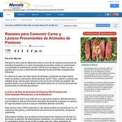Razones para Consumir Carne y Lácteos de Animales de Pastoreo
