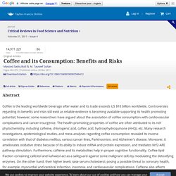 Implications of Coffee Consumption