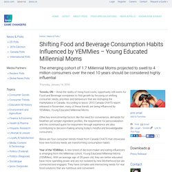 Shifting Food and Beverage Consumption Habits Influenced by YEMMies – Young Educated Millennial Moms