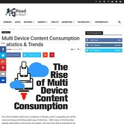 lti Device Content Consumption Statistics & Trends - Infographic