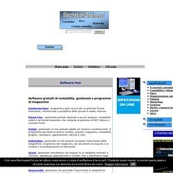 Software free di contabilità, gestionali gratuiti e programmi gratis di magazzino