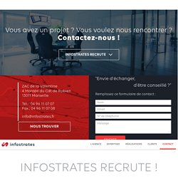 Contact / Accueil - Infostrates
