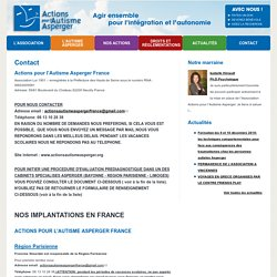Action pour l'Autisme Asperger