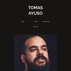 Contact and Biography - Tomas Ayuso