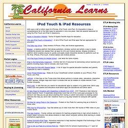 Contact California Learns