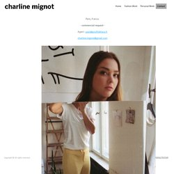 Contact - Charline Mignot