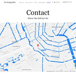 Contact - De Designpolitie